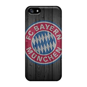 Caseonly Iphone 5/5s Hybrid Tpu Case Cover Silicon Bumper Bayern Iphone 4