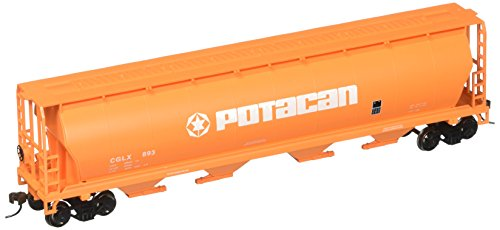 Bachmann Trains Potacan 4 Bay Cylindrical Grain Hopper-Ho Scale
