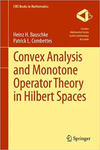 Convex analysis and monotone operator theory in hilbert spaces convex analysis and monotone operator theory in hilbert spaces cms books in mathematics 2011th edition fandeluxe Gallery