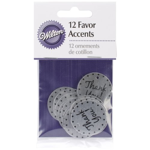 Wilton Thank You Favor Accents,