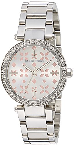 Michael Kors Women's Mini Parker Silver-Tone Watch (Mini Ladies Jewelry Watch)