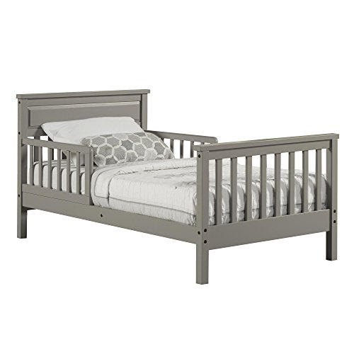 Dorel Asia Haven Toddler Bed Gray
