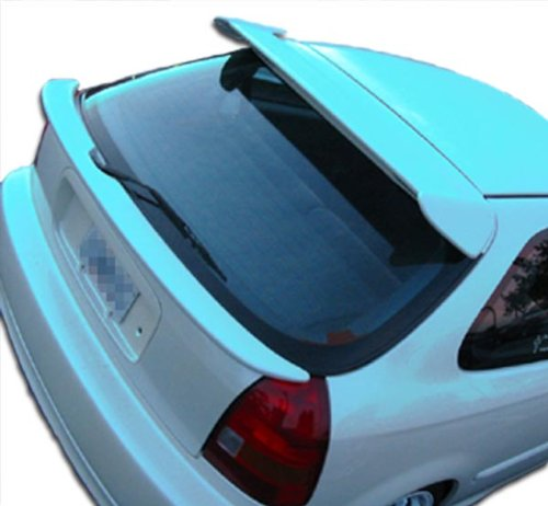 for 1996-2000 Honda Civic HB Type R Roof Window Wing Spoiler - 1 Piece ()