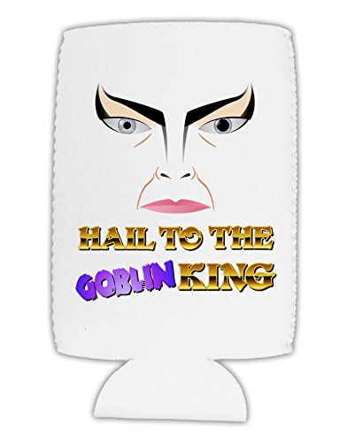 TooLoud Hail to the Goblin King Collapsible Neoprene Tall Can Insulator (Goblin Outfit)
