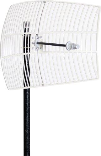AIR802 Grid Antenna, 5.1 to 5.8 GHz, 26 dBi Gain ANGR5X26