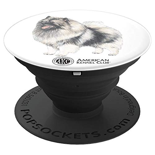 (AKC Keeshond PopSocket - PopSockets Grip and Stand for Phones and Tablets)