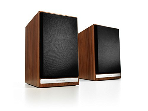 Audioengine HDP6 Passive Bookshelf/Stand-mount Speakers (Pair) (Walnut)