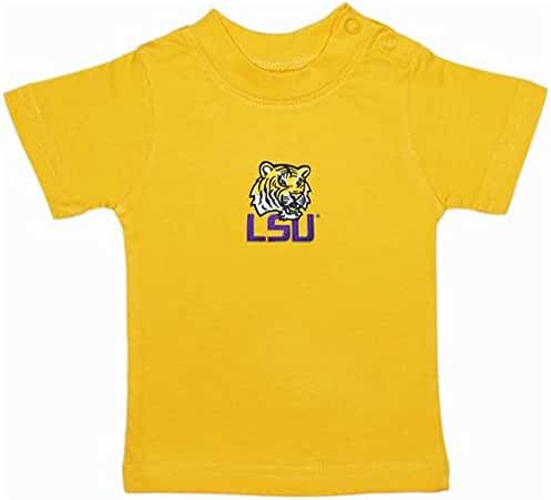 LSU Tigers Gold NCAA College Toddler Baby T-Shirt Tee