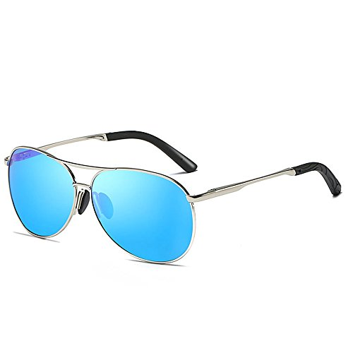 Mirror SEEKSUNG® Polarized Driver Goggles Ms New Mens Sunglasses Sports Outdoor Blue Sunglasses Sunglasses Spectacle Driving XXt1rq
