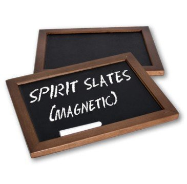 Doowops Spirit Slates - Magnetic (Ghost Black Board) Mentalism Magic Tricks Stage Gimmick Accessory Illusion Prediction Magie Slates by Doowops (Image #2)