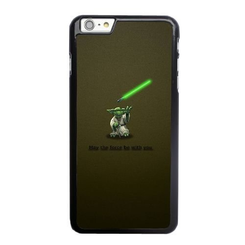 Grouden R Create and Design Phone Case,Yoda Star Wars Cell Phone Case for iPhone 6 6S 4.7 inch Black + 1*Touch Stylus Pen (Free) GHL-6124651