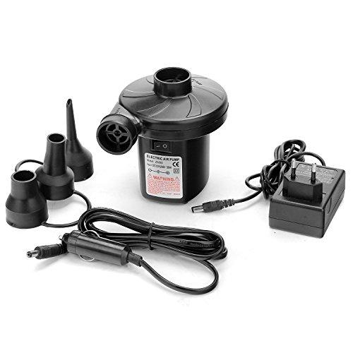 EnGive Elektrische Luftpumpe 230V/12V Quick Fill Elektropumpe