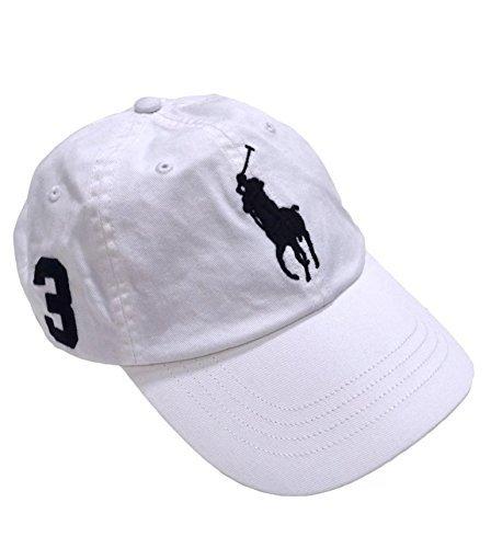 Galleon - Polo Ralph Lauren Men s Big Pony Chino Sport Baseball Cap  W Adjustable Leather Strap f5242392cfd
