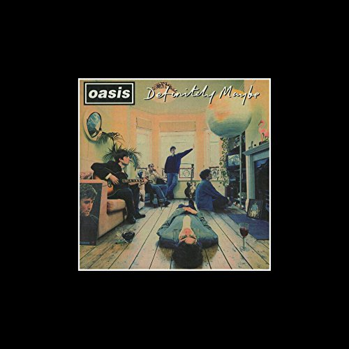 oasis definitely maybe poster - 5