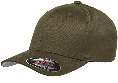 6277 Flexfit Wooly Combed Twill Cap - Large/XLarge - Flex Fit Visors