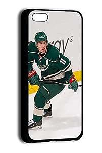 Apple iPhone 5c Case, Zach Parise Minnesota Wild Sports Design Plastic Case Cover for iPhone 5c