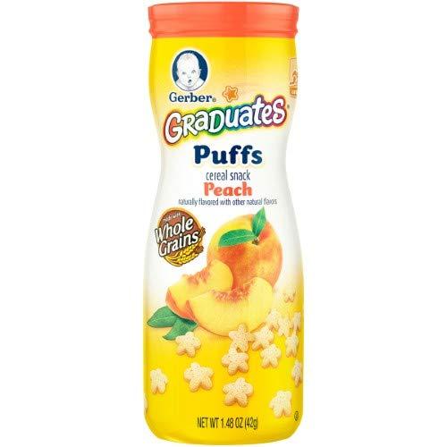 Gerber Puffs Peach (Pack of 14) ()
