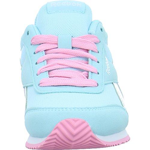 Reebok Royal Cljog 2, Zapatillas de Running Para Niñas Multicolor (Blue Lagoonwhitepi)