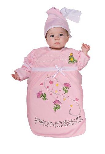 Rubie's Costume Tyke Treat Baby Bunting Costume Pink Princess, Princess, 0-9 Months -