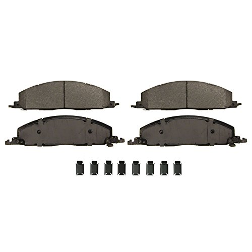 Wagner Severe Duty SX1400 Semi-Metallic Disc Pad Set Includes Installation Hardware, Rear Duty Disc Brake Pad