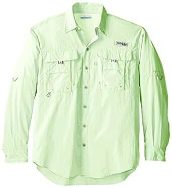 Columbia Men's PFG Bahama II Long Sleeve Shirt - Tall, Key West, 1X