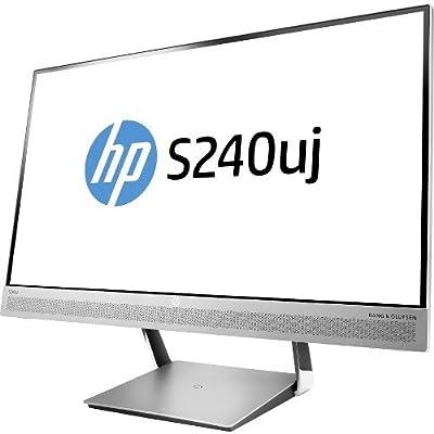 HP EliteDisplay 23.8-Inch Screen LED-Lit Monitor Silver (T7B66A8#ABA)
