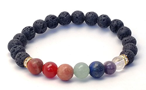 Lava Crystal Bracelet Natural Grounding