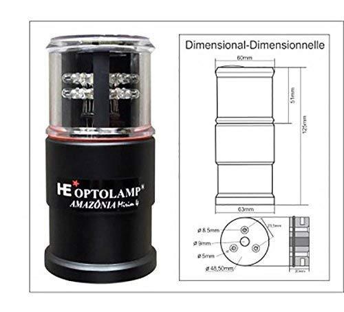 LED Navigation Light - Nautos OP5000A - Tri Color - Anchor - Strobe Light - Vertical Rescue -