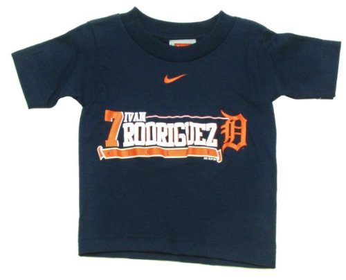 (MLB BY MAJESTIC Detroit Tigers Ivan Rodriguez Toddler T-Shirt (3T))