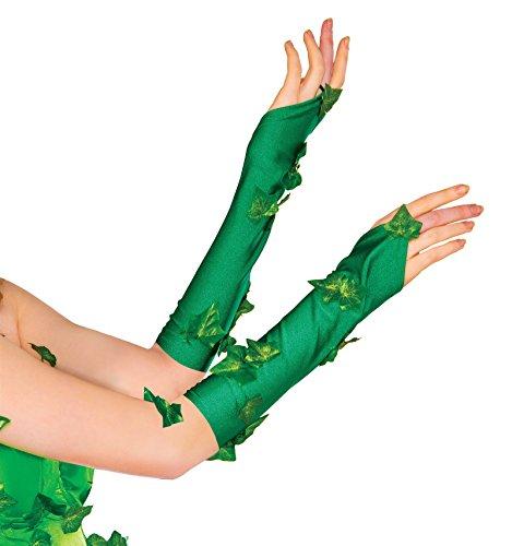 R38033 Poison Ivy Glovetts (Poison Ivy Costume Batman)