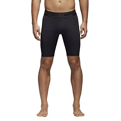 adidas Mens Training Alphaskin Sport Short Tights, Black, Medium