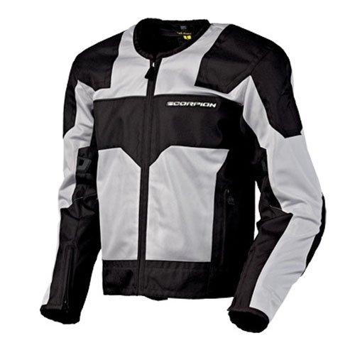 Scorpion Drafter Mesh (Scorpion Drafter Mesh Motorcycle Jacket Silver L)