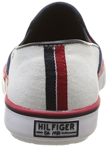 Tommy mode White femme Blanc Baskets 23C Vivien Hilfiger Ice qUTwBq7Z