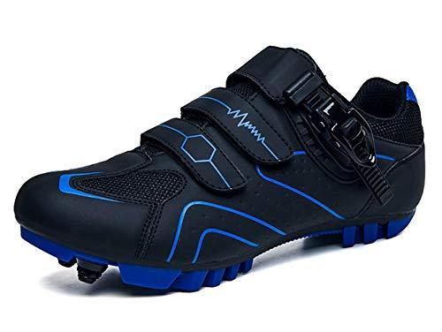 Heren MTB Fietsschoenen Antislip en Slijtvast Klittenband Carbonzool Dames Wielrenschoenen Mountainbike Schoen 37-47