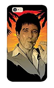 Graceyou High-quality Durability Case For Iphone 6(tony Montana Scarface)