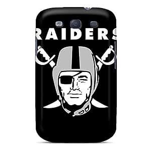 High Grade L.M.CASE Flexible Tpu Case For Galaxy S3 - Oakland Raiders