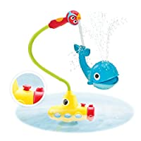 Baby Bath Toy - Submarine Spray Whale- Battery Operated Water Pump With Easy ...