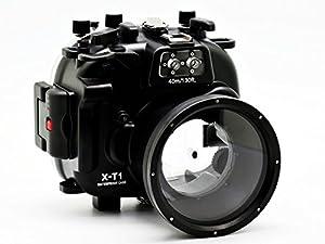 CamDive 40M/130FT Underwater waterproof camera housing for Fujifilm X-T1