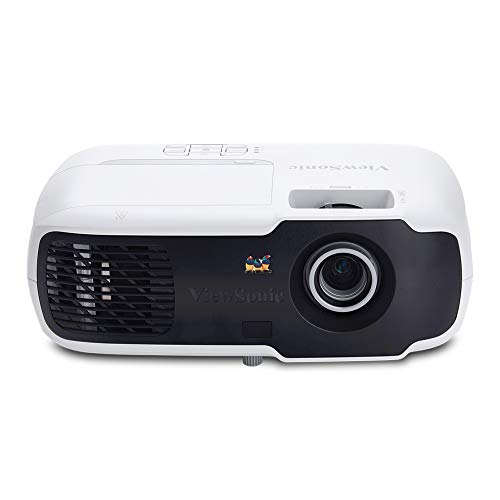 ViewSonic PA502S 3500 Lumens High Brightness SVGA Projector for Home and Office with HDMI and Optical Zoom