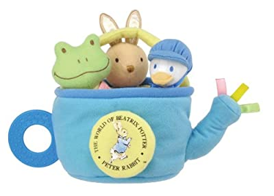Kids Preferred Beatrix Potter Peter Rabbit Rattle Playset
