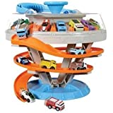 Kid Galaxy Nitro Micro 2 in 1 Carrying Case Set with 5 Bonus Cars (Total of 10)