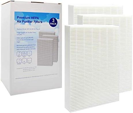 EZ SPARES 3 Piezas True Hepa Filtro de Repuesto para Honeywell purificador de Aire Modelos HPA300, HPA100 y HPA200, en comparación con HRF-R2, HRF-R3, Filtro R: Amazon.es: Hogar