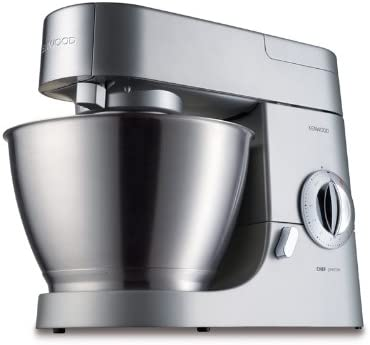 Kenwood Premier Chef KMC570 Robot de cocina, 1000 W, 4.6 L, acero inoxidable, aluminio, color plata: Amazon.es: Hogar
