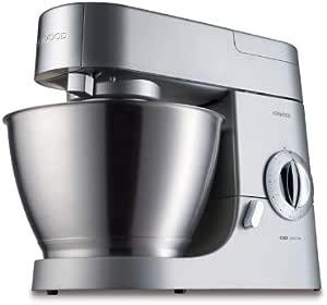 Kenwood Premier Chef KMC570 Robot de cocina, 1000 W, 4.6 L, acero inoxidable, aluminio, color plata: Amazon.es: Hogar