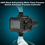Maxmartt Pressure Switch, 220V Black Self-Priming