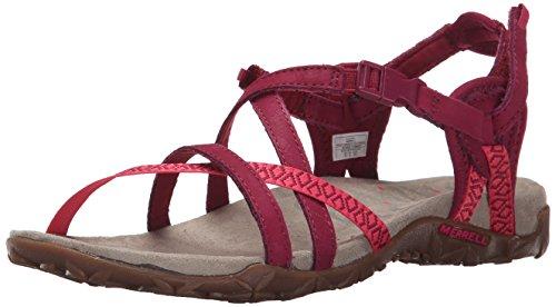Merrell Kvinders Terran Gitter Ii Sandal Fuchsia dm72cXA