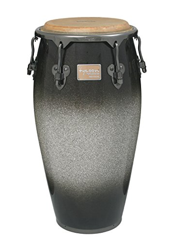 Tycoon Percussion 12 1/2 Inch Master Platinum Tri-Fade Series Tumba With Single Stand