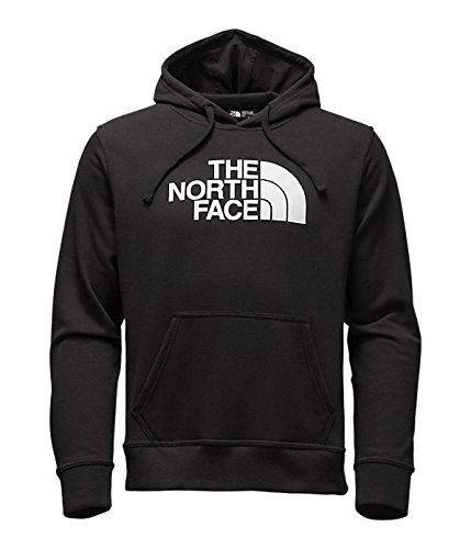 The North Face Men's Half Dome Hoodie, TNF Black/TNF White, X-Large