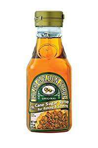 Lyle's Golden Syrup, Original, All-Natural Syrup for Baking and Cooking, 11 Ounce (pack of 6)