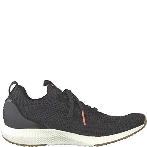 22 1 1 Calzado Deportivo Cordones Mujer Black 23714 Con Tamaris zapato Zt4pqZ